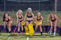 英国女子曲棍球运动员裸体写真助慈善